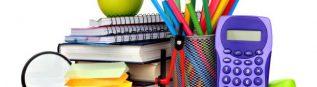 Bons de fournitures scolaires 2019