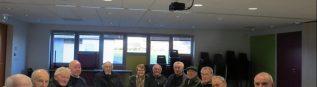 Une vingtaine d'adhérents à l'UNC AFN de Saint Aubin
